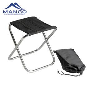 Aluminum folding stool