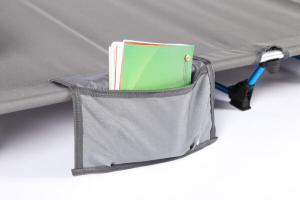 aluminum folding camping cot with pouch