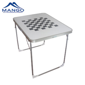 iron folding camping table