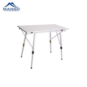 Aluminum folding camping table
